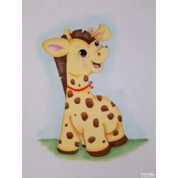Fralda Girafinha Simpática