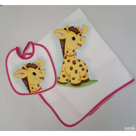 "Conjunto ""Girafinha simpática"""